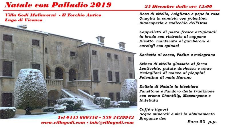 Natale con Palladio 2019