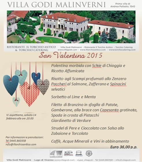 San Valentino 2015 - sabato 14 febbraio